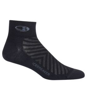 Calcetines Icebreaker Ultra Light Mini Hombre Negro