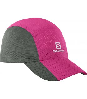 Gorra Salomon XT Compact Cap Rosa Gris