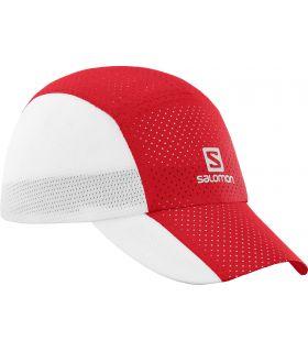 Gorra Salomon XT Compact Cap Rojo Blanco