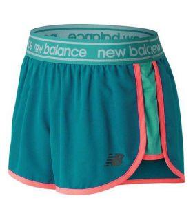 Shorts New Balance Accelerate 2.5 Inch Mujer Azul
