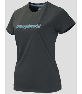 Camiseta Trangoworld Kewe DT Mujer Antracita Azul