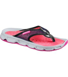 Sandalias de Descanso Salomon RX Break Mujer Rosa Fluor