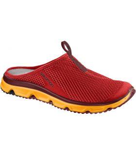 Zapatillas Descanso Salomon Rx Slide 3.0 Hombre Rojo. Oferta y Comprar online