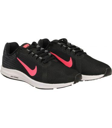 Zapatillas Nike Downshifter 8 Mujer Negro Rosa
