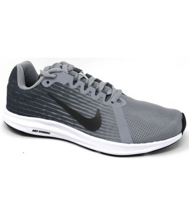 Zapatillas Nike Downshifter 8 Mujer Lobo Gris