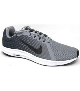 Zapatillas Nike Downshifter 8 Hombre Gris Negro. Oferta y Comprar online