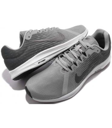 Zapatillas Nike Downshifter 8 Hombre Gris Negro