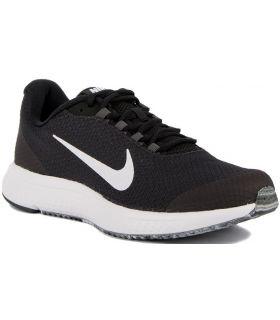 Zapatillas running Nike Runallday Hombre Negro Blanco Gris