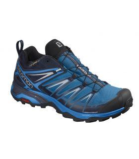 Zapatillas Salomon X Ultra 3 GTX Hombre Azul Negro