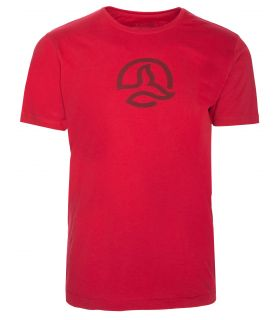 Camiseta Ternua Causte Hombre Rojo