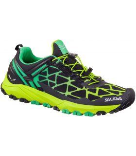 Zapatillas Salewa Ms Multi Track Hombre Negro Verde. Oferta y Comprar online