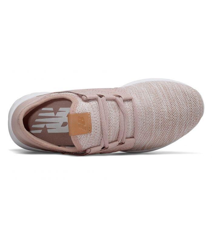 Compra online Zapatillas New Balance Fresh Foam Cruz On Mujer Rosa en oferta al mejor precio