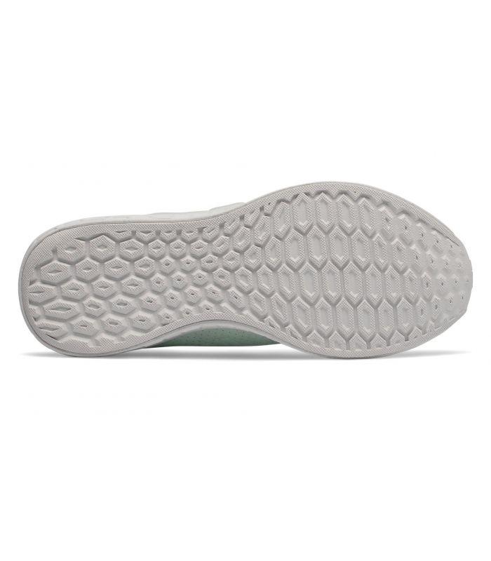 Compra online Zapatillas New Balance Fresh Foam Cruz On Mujer Verde en oferta al mejor precio