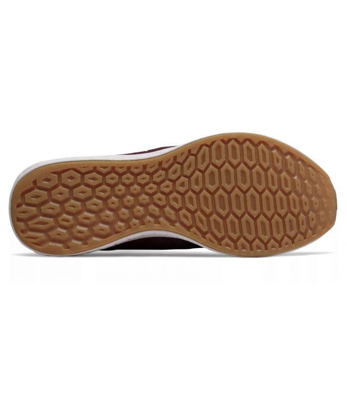 Compra online Zapatillas New Balance Fresh Foam Cruz On Hombre Burdeos Negro en oferta al mejor precio