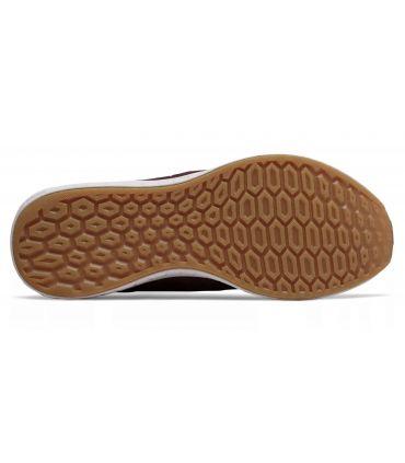 Zapatillas New Balance Fresh Foam Cruz On Hombre Burdeos Negro