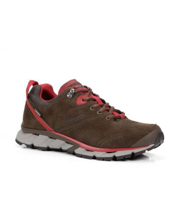 ZAPATILLAS CHIRUCA ETNICO 12 GTX SURROUND MARRON-ROJO