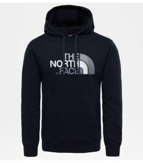 Sudadera The North Face Drew Peak Hombre Negro Gris. Oferta y Comprar online