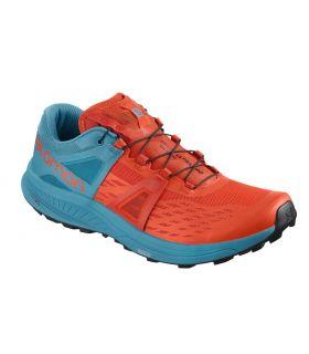 Zapatillas Salomon Ultra Pro Hombre Naranja Azul. Oferta y Comprar online