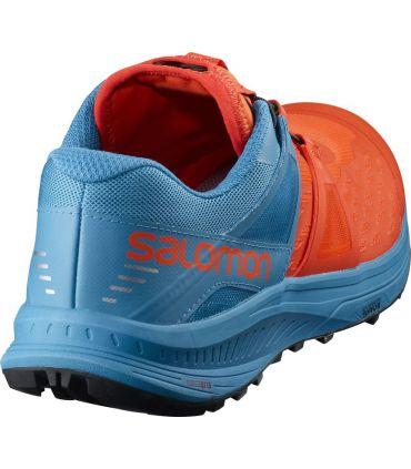 Zapatillas Salomon Ultra Pro Hombre Naranja Azul
