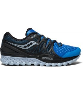 Zapatillas Saucony Xodus ISO 2 Hombre Negro Azul. Oferta y Comprar online