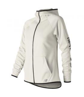Sudadera New Balance CoreFleece Mujer Blanco. Oferta y Comprar online