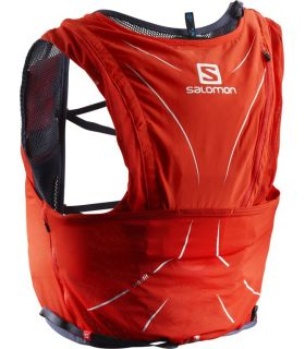 Mochila trail running Salomon Adv Skin 12 Set Rojo