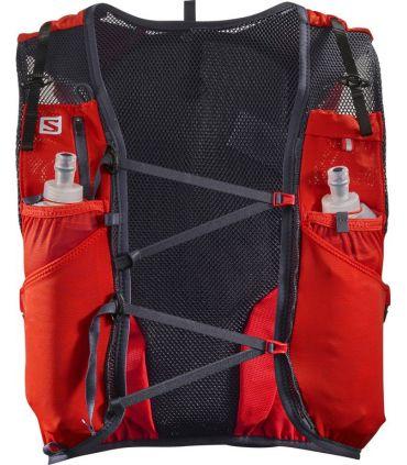 Mochila trail running Salomon Adv Skin 12 Set Rojo