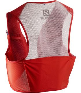 Mochila trail running Salomon S-Lab Sense 2 Set Rojo