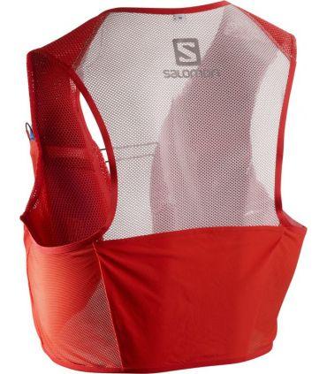 Mochila trail running Salomon S-Lab Sense 2 Set Rojo