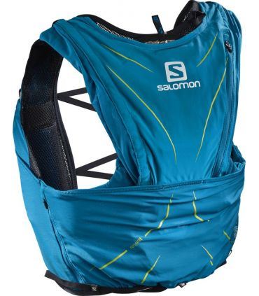 Mochila trail running Salomon Adv Skin 12 Set Azul Hawaiian