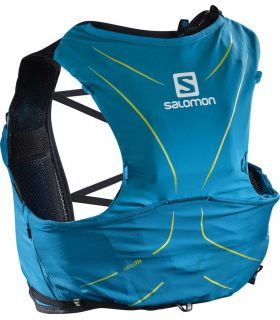Mochila trail running Salomon Adv Skin 5 Set Azul Hawaiian
