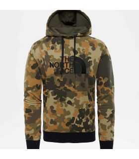 Sudadera The North Face Drew Peak Hombre Camuflaje