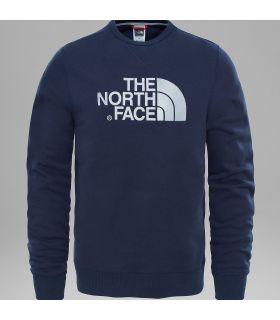 Sudadera The North Face Drew Peak Crew Hombre Azul Oscuro. Oferta y Comprar online