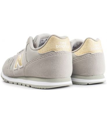 Zapatillas New Balance KJ373 Crema