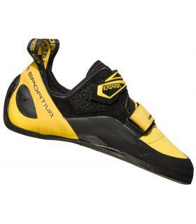 Pies de gato La Sportiva Katana Yellow-Black. Oferta y Comprar online
