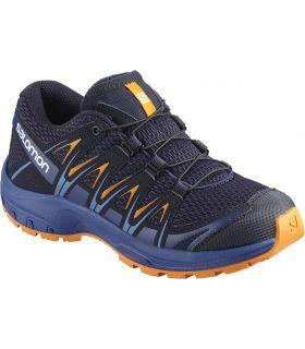 Zapatillas Salomon Xa Pro 3d J Niños Azul Naranja. Oferta y Comprar online