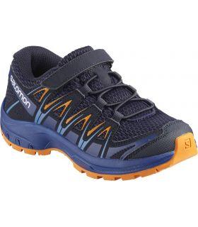 Zapatillas Salomon Xa Pro 3d K Niños Azul Naranja
