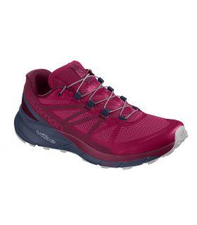 Zapatillas trail running Salomon Sense Ride Mujer Cerise