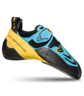 Pies de gato La Sportiva Futura Blue-Yellow. Oferta y Comprar online