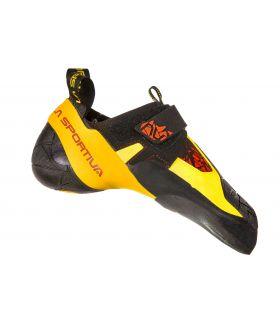 Pies de gato La Sportiva Skwama Black-Yellow. Oferta y Comprar online
