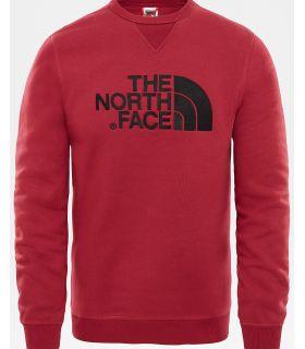 Sudadera The North Face Drew Peak Crew Hombre Rojo
