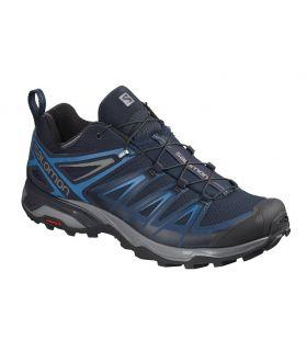 Zapatillas de trekking Salomon X Ultra 3 Hombre Azul Poseidon. Oferta y Comprar online