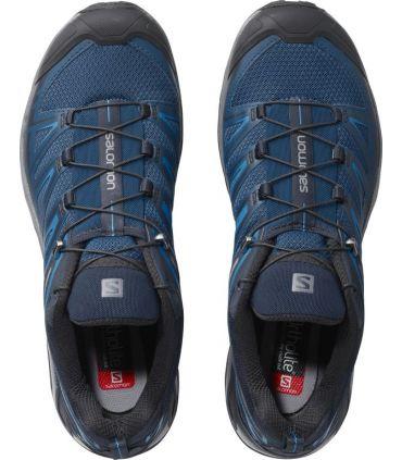 Zapatillas de trekking Salomon X Ultra 3 Hombre Azul Poseidon