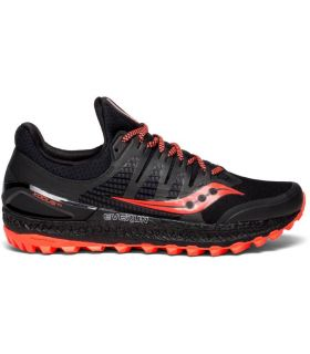 Zapatillas Saucony Xodus ISO 3 Hombre Negro Naranja. Oferta y Comprar online