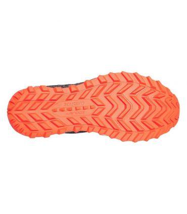Zapatillas Saucony Xodus ISO 3 Hombre Negro Naranja