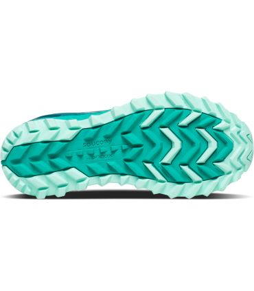 Zapatillas Saucony Xodus ISO 3 Mujer Turquesa