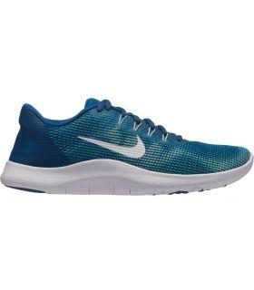 Zapatillas Nike Flex 2018 Rn Mujer Azul. Oferta y Comprar online