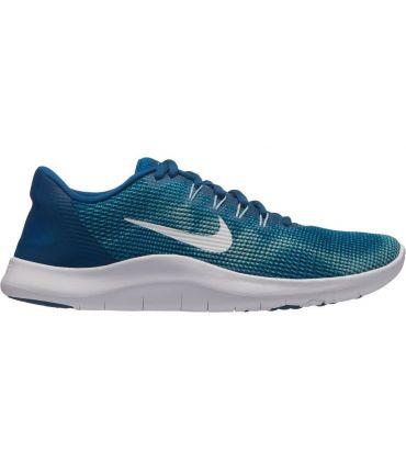 Zapatillas Nike Flex 2018 Rn Mujer Azul