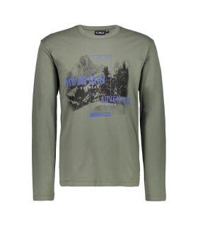 Camiseta Campagnolo 38U3177 Hombre Kaki. Oferta y Comprar online