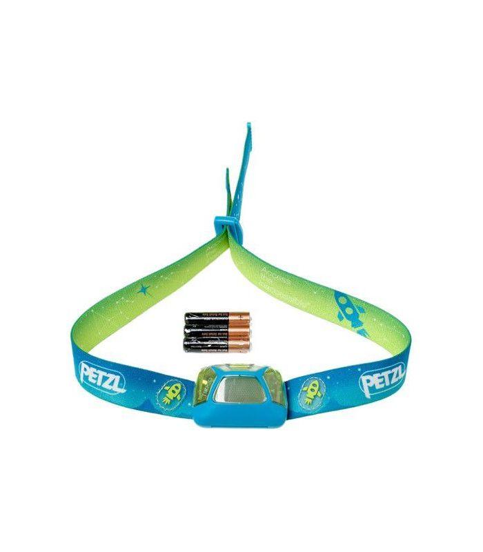 Compra online Frontal Petzl Tikkid Niños Azul en oferta al mejor precio